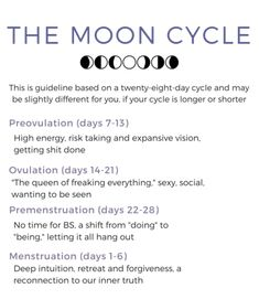 Lunaception: the benefits of aligning your cycles with the Moon 🌛🌝🌜 - Luna Lifted Health And Nutrition, Health And Wellness, Health Fitness, Holistic Nutrition, Female Hormones, Menstrual Cycle, Self Healing, Self Improvement, Natural Health