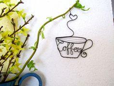 Dekorácie - šálka kávy - 2363410