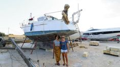 Polish Girl buys Sail Boat for €1 !! ...... Yes, that is ONE EUR...