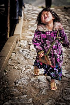 Little Girl in Sapa, Vietnam