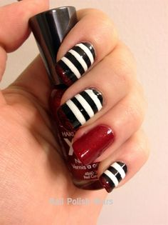nail polish, color, ruby slippers, red carpets, black white, nails, wizard of oz, wick witch, stripe