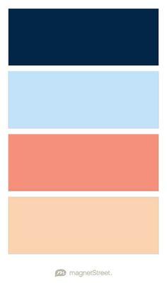 Mountain sun burnt orange peach blush grey slate - Navy blue living room color scheme ...