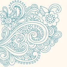 paisley tattoo--- in white this would be awesome!!