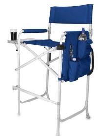 Celebrity Folding Directors Chair W/ Retractable Footrest