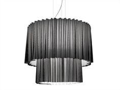 Lampada a sospensione in Trevira® CS SKIRT Linea Lightecture by AXO LIGHT | design Fly Design