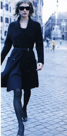 """Who's That Girl?"" by Peter Lindbergh for Harper's Bazaar (US) September 1994"