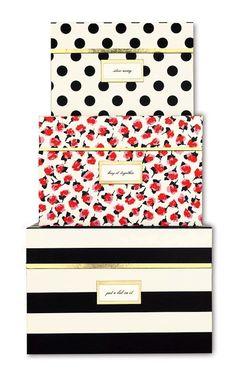 Make knock-offs! Kate Spade Nesting Boxes ($59)