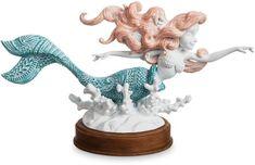 Ariel Art Nouveau Figure | ariel | figurine | the little mermaid | ad | #ariel #figurine #thelittlemermaid #ad