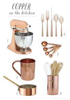 Collecting Copper - Copper in the Kitchen - The Inspired Room