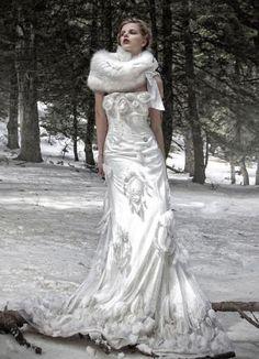 Fairytale Fashion Fantasy Karen Cox Once Upon A Time Snow Queen Winter BrideWinter WeddingsDresses