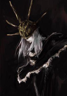 A knight of the goddess does not die. Dark Fantasy, Fantasy Art, Arte Dark Souls, Soul Saga, Character Art, Character Design, Bloodborne Art, Soul Tattoo, Monsters