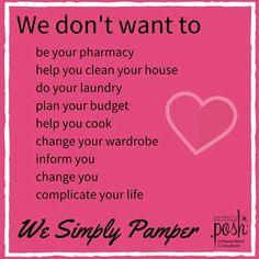 We Simply Pamper! www.poshyangel.com Perfectly Posh by Jill Angel's photo.