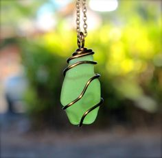 Sea Glass Jewelry made in Hawaii by MermaidTearsDesigns, $28.00