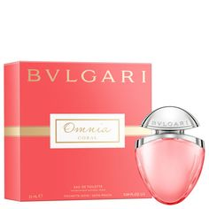 Bvlgari Omnia Coral EDT - A radiant floral-fruity Eau de Toilette of juicy Promeganate and tropical Hibiscus, inspired by the shimmering hues of precious red corals. Bvlgari Omnia Coral, Neiman Marcus, Pink Grapefruit, Fragrance Parfum, Luxury Beauty, Smell Good, Beauty Trends, Beauty Tips, Beauty Products
