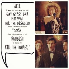 That's River for you! #DoctorWho
