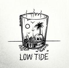 Jamie Browne Art - Low Tide