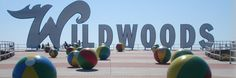 Wildwood NJ - voted best beach at the Jersey Shore many years.  Rent condos, homes, townhomes, etc.  There is a beautiful resort called Seapointe Village.  Located on 17 oceanfront acres, it has lots of great amenities such as waterfalls, 4 pools (one is an indoor/outoor pool), deli hut, basketball court, 2 tennis courts, playground, jacuzzis, exercise rooms, etc.