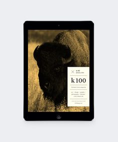 K100 Magazine on Behance