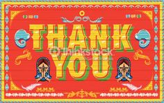 Find illustration of Thank You Poster India truck paint style stock vectors and royalty free photos in HD. Explore millions of stock photos, images, illustrations, and vectors in the Shutterstock creative collection. Indian Illustration, Car Illustration, Thank You Poster, Kitsch Art, Truck Paint, Photo Libre, Indian Patterns, Truck Design, Typography