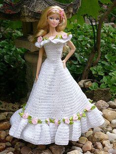 #Barbie #crochet #dresses hanneton 46.3.33 qw