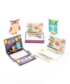 Festive Owls Note Card Set