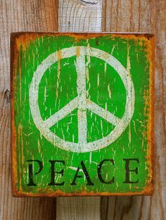 Green Peace. Green symbolizes self-respect and well being. Green is the color of balance. It also means learning, growth and harmony. Green is a safe color, if you don't know what color to use anywhere use green. Color inspiration 4.