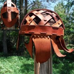 Picture of Ulltuna Helmet (Viking Helm) (follow link for instructable)
