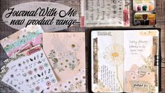 I really hope you enjoy watching my latest video, where I showcase my new product launch ☺️ video cuadernos Journaling Video Bullet Journal Notebook, Bullet Journal Ideas Pages, Bullet Journal Inspiration, Art Journal Pages, Art Journals, Junk Journal, Creative Journal, Journal Design, Bullet Journal Aesthetic
