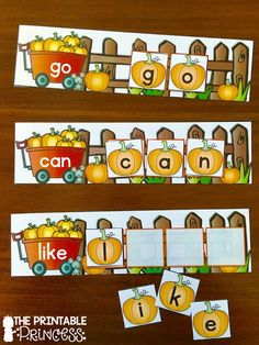 Fun for Kindergarten Awesome DIY and printable math and literacy centers for K! Also include a lot of great fine motor practice.Awesome DIY and printable math and literacy centers for K! Also include a lot of great fine motor practice. Kindergarten Language Arts, Kindergarten Centers, Literacy Stations, Kindergarten Literacy, Kindergarten Activities, Literacy Centers, Early Literacy, Theme Halloween, Fall Halloween