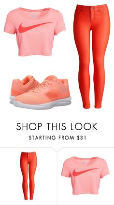 """""""Untitled #174"""" by nellysofab19 ❤ liked on Polyvore featuring Joules and NIKE"""