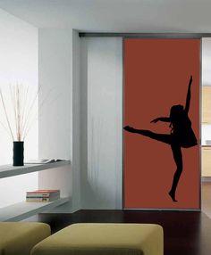 Wall Vinyl Sticker Decals Art Mural Sexy Dancing Girl by tmarysyuk, $29.99