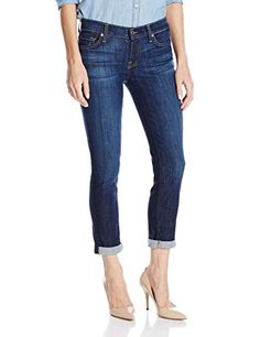 7 For All Mankind Women's Skinny Crop and Roll Jean in Nouveau New York Dark, Nouveau New York Dark, 27 - http://best-women-shop.xyz/2016/06/14/7-for-all-mankind-womens-skinny-crop-and-roll-jean-in-nouveau-new-york-dark-nouveau-new-york-dark-27/