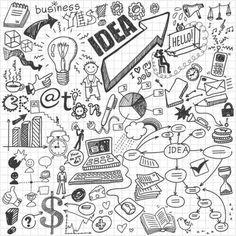 Art Drawings Simple Doodles Inspiration Unique Doodles Easy Best The Way The Doodle Art Healing Otbp Doodle Art, Doodle Icon, Doodle Sketch, Doodle Drawings, Doodle Images, Notebook Doodles, Sketch Notes, Flower Doodles, Doodle Flowers