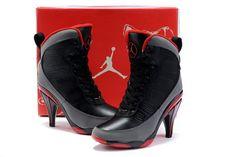 Black Nike Jordan 9 High Heels Sale In UK Store