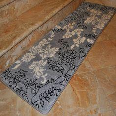 Fashion Street Floral Memory Foam 20 X 64 Bath Runner By Fashion Street