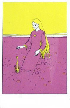 Ex Libris (Limited Edition Print) (Signed) art by Moebius (Jean Giraud) Jean Giraud, Art Et Illustration, Illustrations, 70s Sci Fi Art, Ligne Claire, Art Graphique, Comic Artist, Art Plastique, Graphic