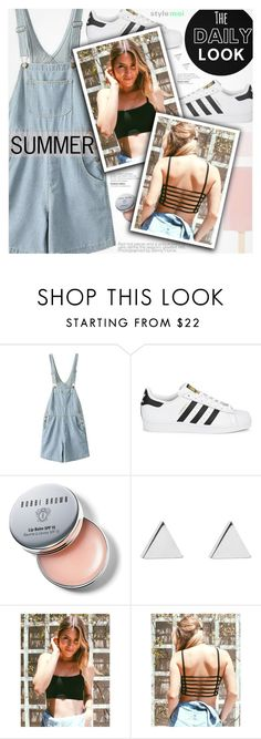 """""""The Daily Look"""" by black-fashion83 ❤ liked on Polyvore featuring adidas Originals, Bobbi Brown Cosmetics, Jennifer Meyer Jewelry, polyvoreeditorial, polyvoreset and stylemoi"""