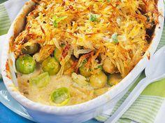 Unser beliebtes Rezept für Rosenkohl mit Kartoffelkruste und mehr als 55.000 weitere kostenlose Rezepte auf LECKER.de.