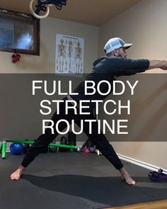 Full Body Stretching Routine, Stretch Routine, Body Stretches, Stretching Exercises, Yoga Fitness, Fitness Tips, Gym Workout Videos, Workouts, Movement Fitness