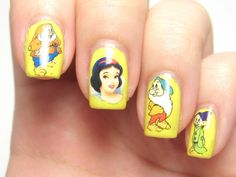 Legally Nailed: Snow White & the Seven Dwarfs Water Decals