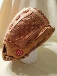 "Vintage Rawlings RSG35 13.5"" RH Baseball Glove - used with wear #Rawlings"
