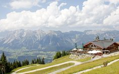 Schladming (Austria).  Looks like Julie Andrews should be there singing with the Von trapp family