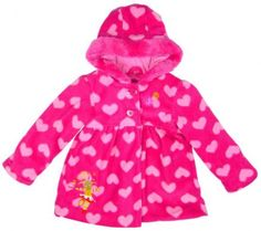 Girls Baby Toddler In The Night Garden Upsy Daisy Fleece Hooded Coat 6 Months to 3 Years