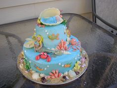Under The Sea Cake Idea