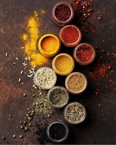 Spices ♥ ️ Spices - World Cuisine Chapati, Spices And Herbs, Soy Wax Candles, Saveur, Food Pictures, Food Pics, Indian Food Recipes, Food Styling, Food Art
