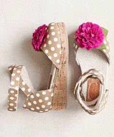 @catlett01  FOR GIRLS  Loving this Taupe Mika D'Orsay Wedge & Hair Clip - Kids on #zulily! #zulilyfinds