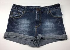 Mossimo Girl's Jean Shorts, Blue, Size L 10/12 #Mossimo #Everyday