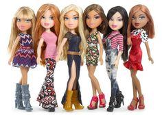 Bratz Strut It Dolls: Fianna, Meygan, Cloe, Yasmin, Jade and Sasha