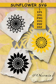 Sunflower SVG | Cut Files| Sunflower Shirt Design #sunflowersvg #sunflowersvgfile #sunflowercricut #sunflowersilhouette #sunflowerdrawing #sunflowertattoo #sunflowerstamp #sunflowercutfile #svg #shirtdesign Sunflower Illustration, Shirt Designs, Sunflower Shirt, Back Art, Scene Creator, Illustrations, Transfer Paper, Line Design, Journal Cards