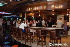 F and C Travel - Miami-Western 7 Night Cruise Carnival Glory, White Lab Coat, Peach Schnapps, Apothecary Jars, Light Up, Liquor, Cruise, Miami, Alcoholic Drinks